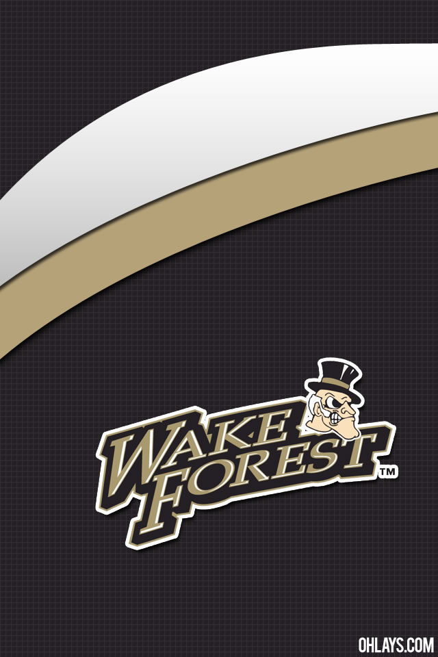 Wake Forest Demon Deacons iPhone Wallpaper
