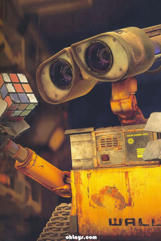 Wall-E iPhone Wallpaper