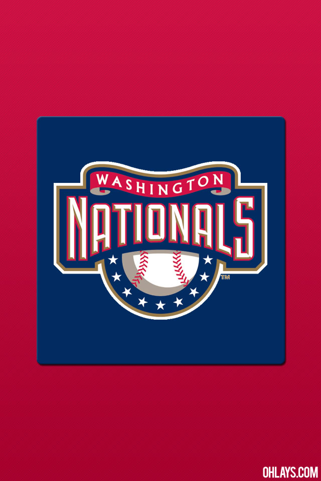 Washington Nationals iPhone Wallpaper