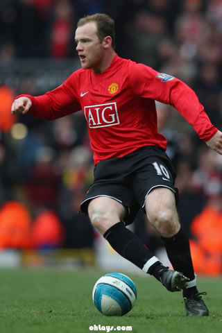 Wayne Rooney iPhone Wallpaper