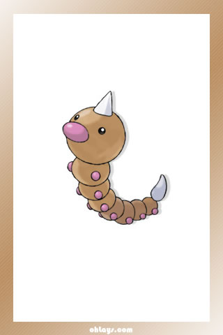 Weedle iPhone Wallpaper