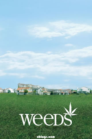 Weeds iPhone Wallpaper