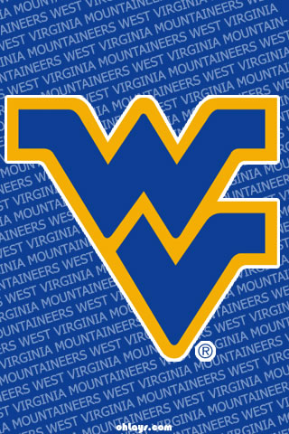 West Virginia Mountaineers iPhone Wallpaper