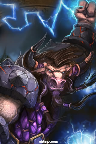 World of Warcraft iPhone Wallpaper