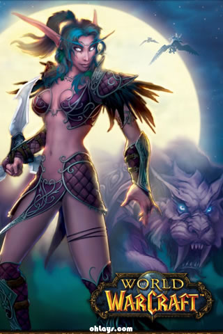wallpapers wow. World of Warcraft iPhone
