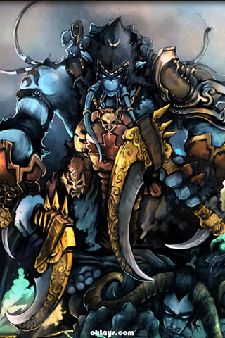 wallpaper wow. World of Warcraft iPhone