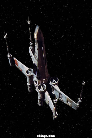X-wing iPhone Wallpaper