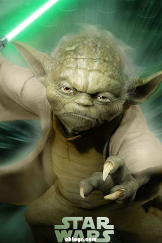 Yoda iPhone Wallpaper