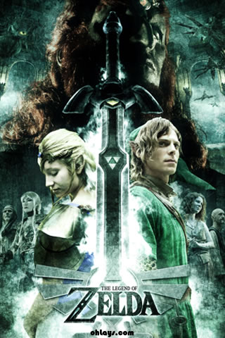Legend of Zelda iPhone Wallpaper