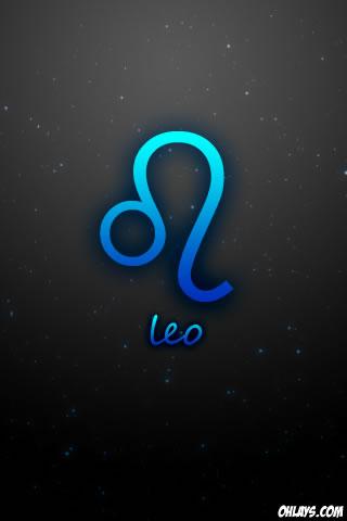 Leo iPhone Wallpaper