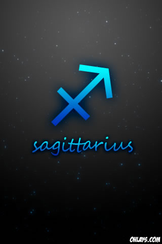Sagittarius iPhone Wallpaper